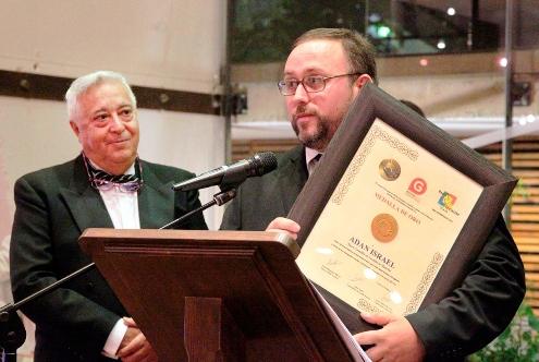 Adán Israel premiado con la medalla de oro al mejor Sumiller de Castilla La Mancha