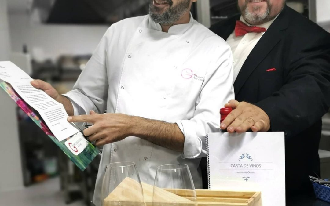 Premio Miguel de Cervantes de Gastronomía mejor carta de vinos.