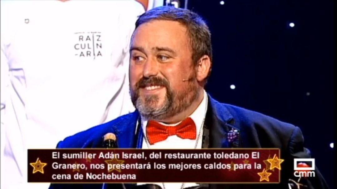 Cena de Navidad en la televisión manchega