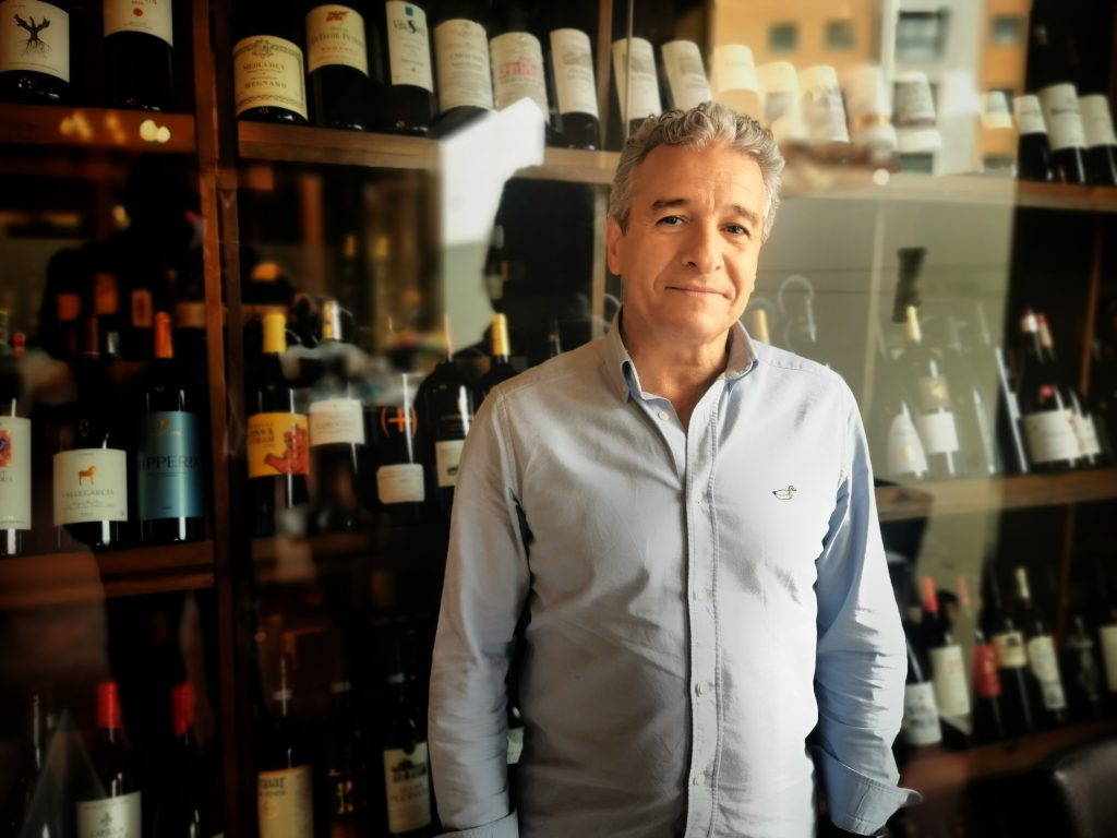 Jesús Miguel Serrano asador Restaurante San Huberto